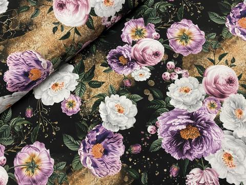 Glitter flowers, softshell