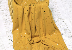 Gold splashes, okra, trikoo
