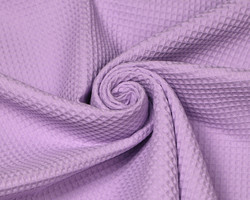 Pieniruutuinen vohvelikangas, laventeli