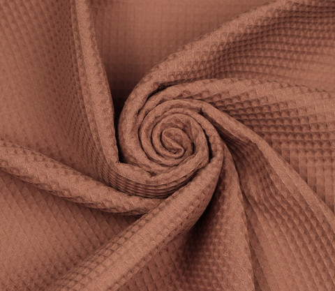 Pakanloppu n. 125 cm: Pieniruutuinen vohvelikangas, ruusukulta