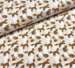 Cute foxes, trikoo
