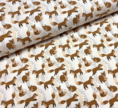 Cute foxies, trikoo