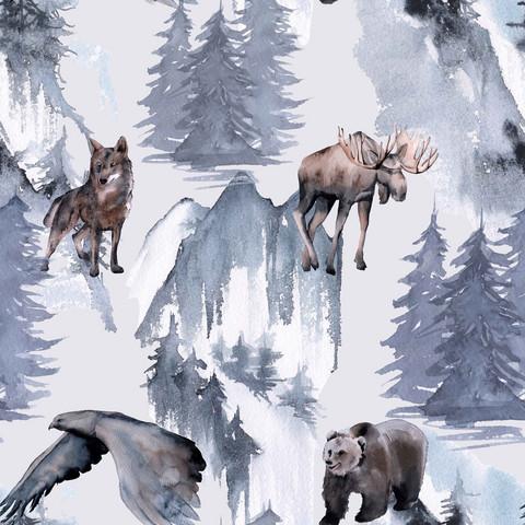Wildlife, old blue, trikoo