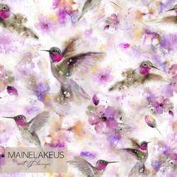 Kolibrit, trikoo (design by Mainelakeus)