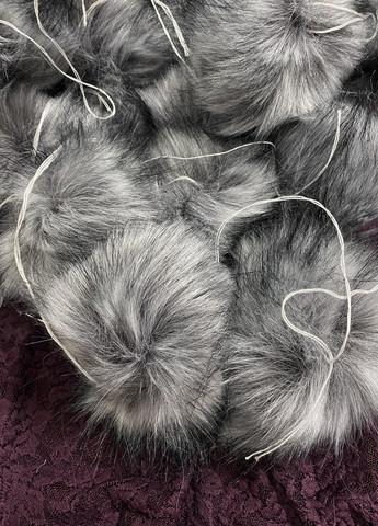 Muhkea keinokarvatupsu 15 cm, silver grey