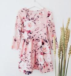 My flowery day, light pink, trikoo