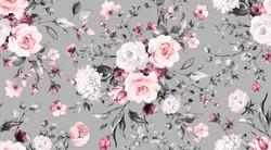 My flowery day, vaaleanharmaa, trikoo