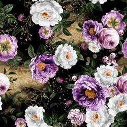 Glitter flowers, trikoo