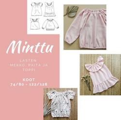 Mimmila Made: Minttu (paperikaava, koot 74/80-122/128)