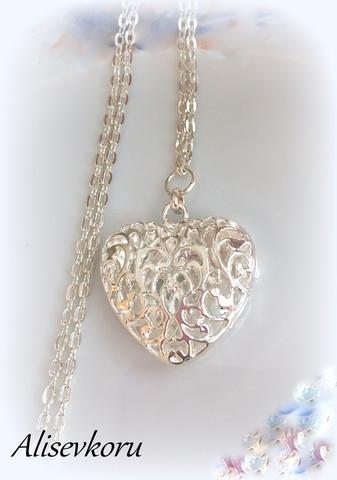 3064 Alise Design Filigraani sydän riipus