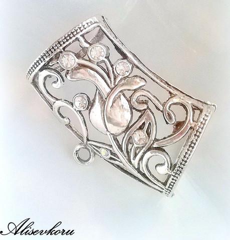 3110 Alise Design Huivikorun ripustin TULPPAANI kristalleilla