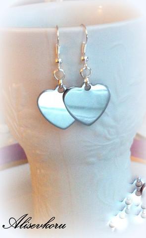 3310 Alise Design sydän korvakorut
