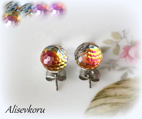 3708 Alise Design  Väriä vaihtavat kristallikorut VALITSE VÄRI