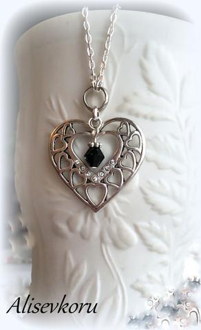 3976 Alise Design Sydämet kaulakoru