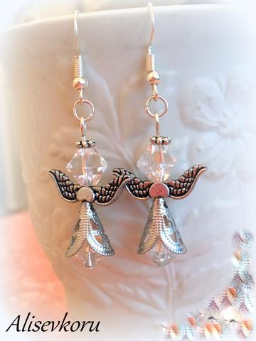 4138 Alise Design Helmi enkeli korvakorut 5