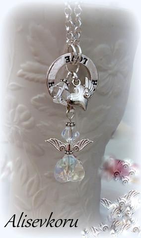 4140 Alise Design  Enkelikoru kaulakoru no. 2