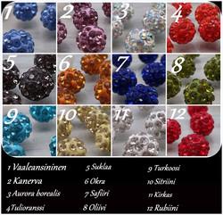 3714 Alise Design Shamballa  kristallikorut VALITSE VÄRI