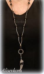 3810 Alise Design Puinen avainkoru  omalla tekstillä