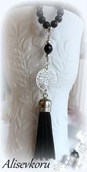 3844 Alise Design Elämänpuu helmikaulakoru