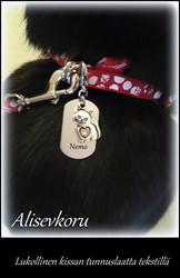 3873 Alise Design Tunnuslaatta eläimen pantaan/hihnaan