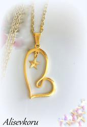 3877 Alise Design Sydänkaulakoru kulta