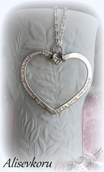 3878 Alise Design Sydänkaulakoru