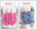 3889 Alise Design Makrame korvakorut kristallilla, valitse kuvio ja väri
