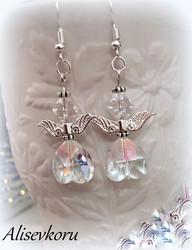3944 Alise Design Kristalli enkeli korvakorut