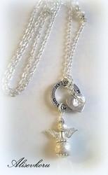 3945 Alise Design  Stardust enkeli kaulakoru omalla tekstillä