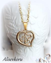 3947 Alise Design Sydämmet kaulakoru Kulta