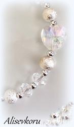 4014 Alise Design  Kristalli käsikoru, valitse pituus