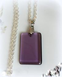 4018 Alise Design Lasiriipus suorakaide violetti