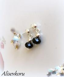 4060 Alise Design  Helmi / kristalli korvakorut  VALITSE MALLI