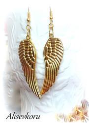 4069 Alise Design Siivet korvakorut kulta