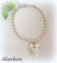 4094 Alise Design Kristalli nilkkakoru