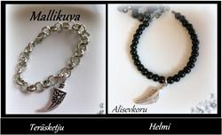 4133  Alise Design  Tripal käsikoru Helmi/ketju