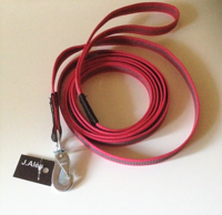 Jalen grip 15 mm talutushihna 3 m pinkki bgb