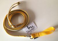 Designdog lukoton heijastintalutin 200 cm, 20 mm keltainen