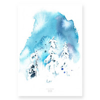Ester Visual: Lumen valkeus 50x70 cm