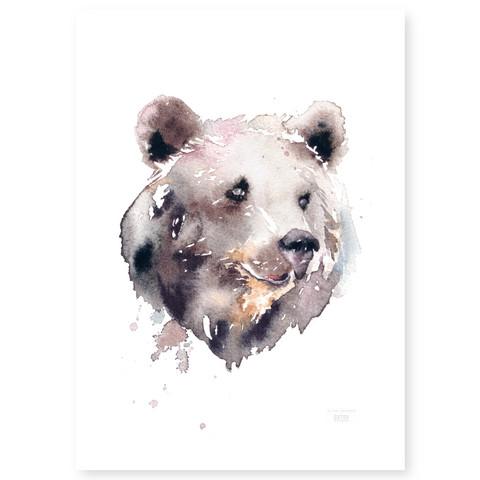Ester Visual: Karhu 50x70 cm