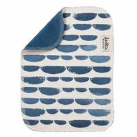 Kierti  bambuinen tiskirätti/siivousliina Venho sininen