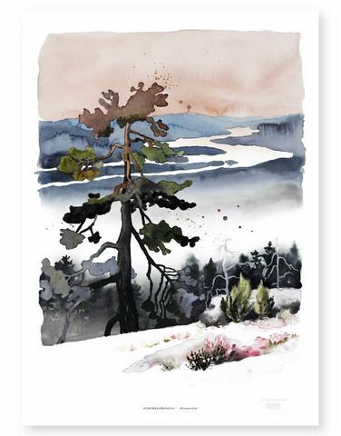 Ester Visual: Kuninkaanlaavu 50x70 cm