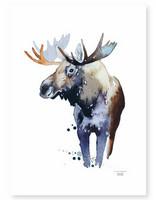 Ester Visual: Kruunupää Hirvi 50x70 cm