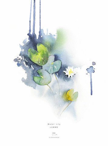 Ester Visual: Lumme 50x70 cm