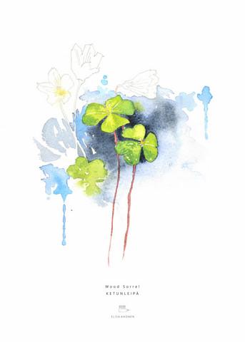 Ester Visual: Ketunleipä 50x70 cm