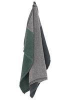 Lapuan Kankurit: Terva-pyyhe 85 x 180 cm, musta-multi-haavan vihreä