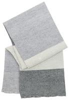 Terva-pyyhe 85 x 180 cm, valko-multi-harmaa