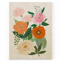 Iisa Mönttinen: Summer Bouquet 30x40 cm