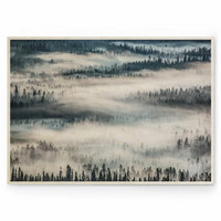 Tiina Törmänen: Summer Fog 05 40x30 cm