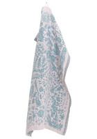 Villiyrtti -pyyhe 48x70 cm Roosa-Petroli